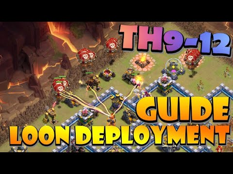 IMPROVE YOUR BALLOON DEPLOYMENT TH9-12 | Master Lavaloon Attack Strategy TH9 - TH10 - TH11 - TH12