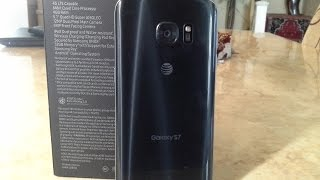 Samsung Galaxy S7 Black Onyx Unboxing and First Impressions