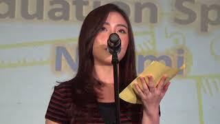 Gambar cover Shinta Naomi JKT48 Graduation Speech Saka Agari Handshake Festival Jakarta 23-12-2018