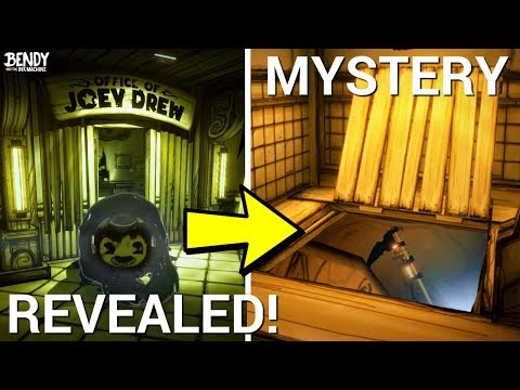 Sammy Chapter 5 Secret + the Trap Door Mystery REVEALED! (Bendy & the Ink Machine Secrets)