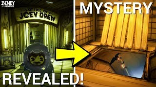 Sammy Chapter 5 Secret + the Trap Door Mystery REVEALED! (Bendy & the Ink Machine Secrets)