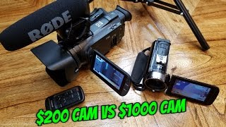 Cheap Canon camera VS Expensive Canon cam