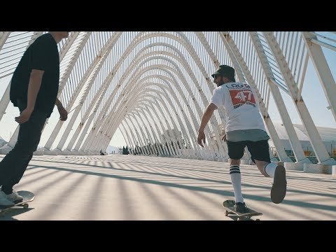 Skateboarding in Athens 2017