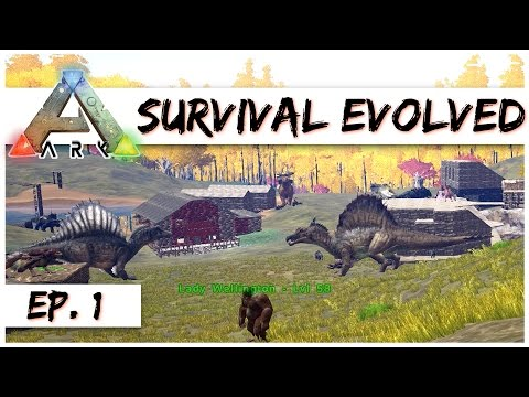 Ark Survival Evolved - Ep. 1 - Welcome to Poop City! - Ark Server Gameplay - Let's Play
