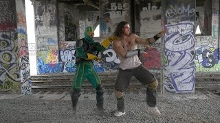 Casey Jones and Kick-Ass DANCE OFF!