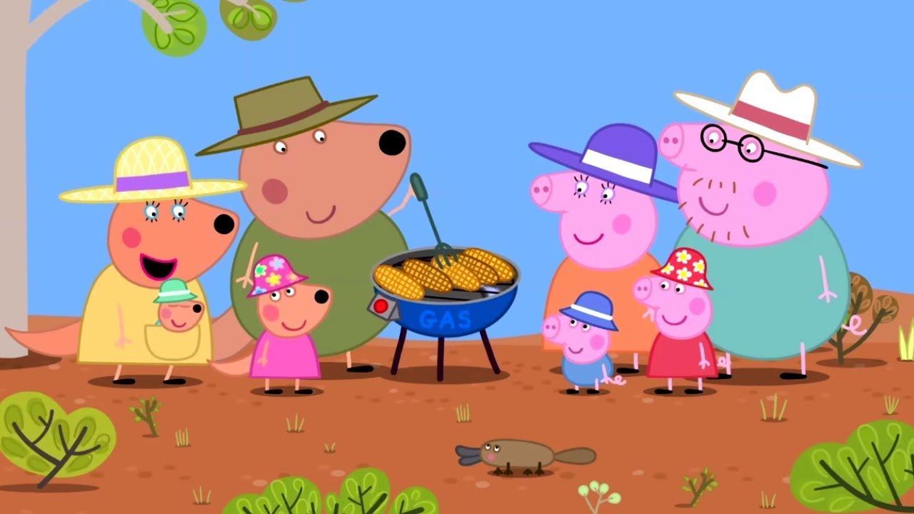 Peppa Pig Português Brasil ?Austrália: O Interior ? HD | Desenhos Animados