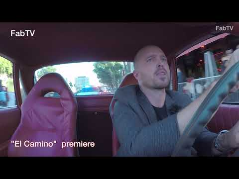 EXCLUSIVE! Aaron Paul Arrives At The