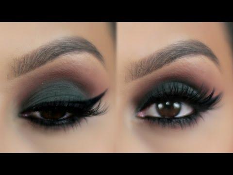 Maquillaje Ojos Ahumados en Verde | PajaritaBella