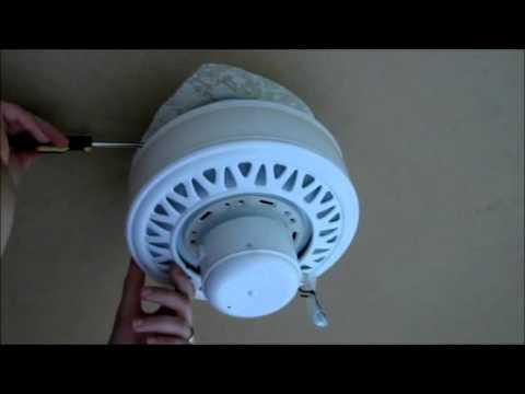 Installing A Harbor Breeze Calera Ceiling Fan And Light