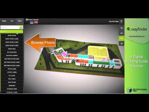3D Wayfinder for Mektory - Updated