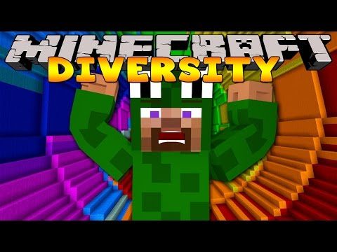 Minecraft Adventure - Diversity 2 - THE DROPPER CHALLENGE
