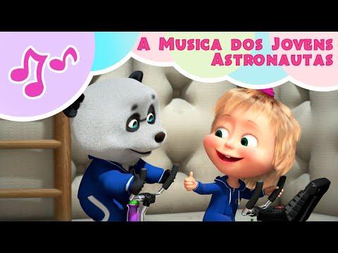 Masha E O Urso Musica 🌟🚀 A Música Dos Jovens Astronautas 🚀🌟 Karaokê 🎵 BRILHA, BRILHA ESTRELINHA