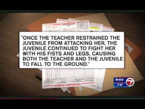 Miami Police Handcuff Boy, 7, For Allegedly Hitting Teacher: Report