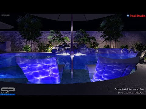 Family on Donner Ave | Luxury Swimming Pool Layout & Design | Elegant | Stylish | Relaxing | Fun