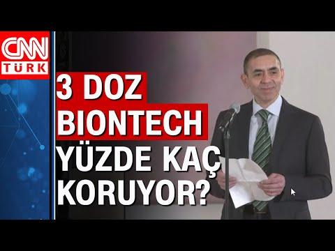 Uğur Şahin 3 doz BionTech aşısının koruma oranını açıkladı