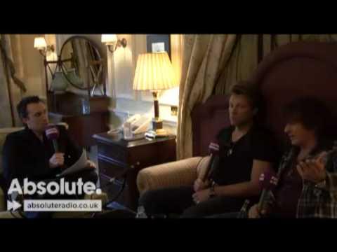 Jon Bon Jovi and Richie Sambora on Absolute Radio