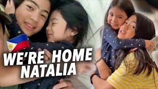 SURPRISING NATALIA WERE BACK HOME!! | Ranz and Niana