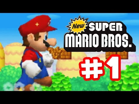 New Super Mario Bros. DS - Part 1 - It's A Me Mario!
