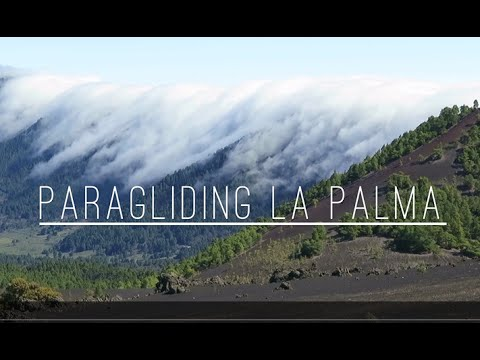 Paragliding La Palma - Gleitschirmfliegen am Passat