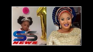 Late Moji Olaiyas baby celebrates first birthday with none of her mothers colleagues in attendance