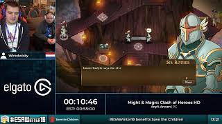 #ESAWinter18 Speedruns - Might & Magic: Clash of Heroes HD [Any% Anwen] by Wiredwicky