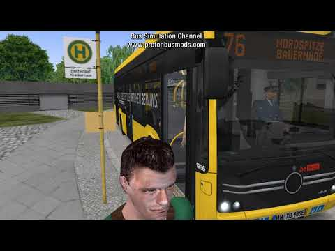 OMSI 2 - Add-On E-Bus Hamburg |