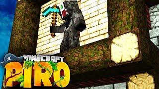 ICH STARTE MIT DEM HAUSBAU! Minecraft PIRO #08