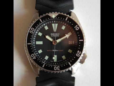1994 Seiko 7002 divers watch 1st Generation