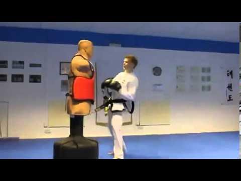 С вертушки в щи ! Taekwondo ITF