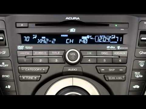 Acura TL XM Radio YouTube - Acura tl radio