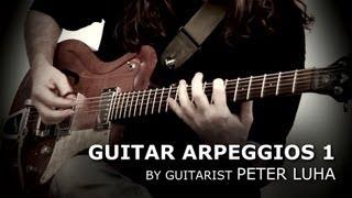 Peter Luha - guitar arpeggios /Yngwie Malmsteen, Marty Friedman, Jason Becker style/