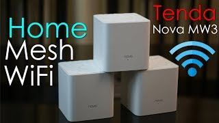 Tenda Nova MW3 review - awesome 3 pack Mesh Router Wi-Fi system