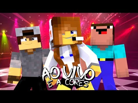 Minecraft: PARÓDIA AO VIVO E A CORES - Matheus & Kauan Anitta  BIBI