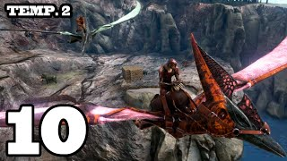MUERTE POR CURIOSO!! ARK: Survival Evolved #10 Temporada 2