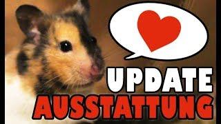 Hamster Ausstattung ♥ Jurassic Park Cage ♥ Einrichtung für Goldhamster Update ♥