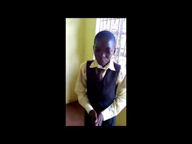 Children Reciting The Lord's Prayer   WFF Moi's Bridge Kenya