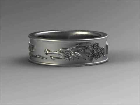 Skyrim ring Dragonborn KXRNLYEVH by NovastarDesign