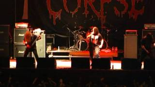 Cannibal Corpse - Live at MHM fest 2010 (2)