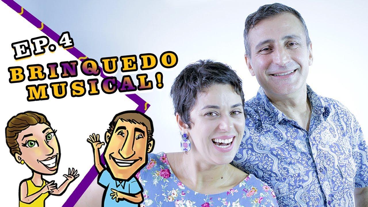 Brinquedo Musical! Lili Flor & Paulo Pixu #EP04