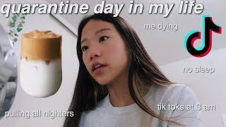 day in my life as a quaranTEEN *realistic*