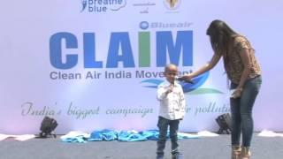 Clean Air India Movement with Google Boy -Kautilya Pandit!!