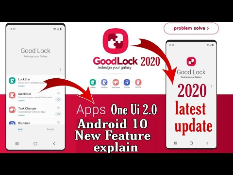 What's New Feature || Android 10 One Ui 2.0 || Good Lock App 2020 Latest Update Feature Explain