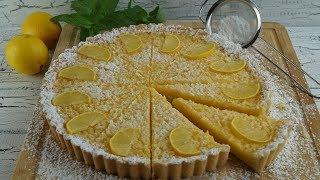Limonlu Tart Tarifi (Zitronentarte)