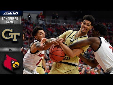 Georgia Tech vs. Lousiville Condensed Game | ACC Basketball 2019-20