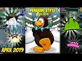 April 2019 Clothing Catalog Secrets!- Club Penguin Rewritten