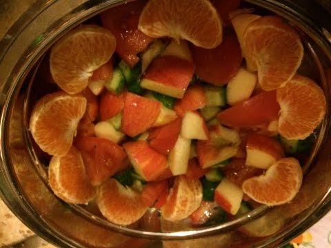 как приготовить летний салат без регистрации и смс