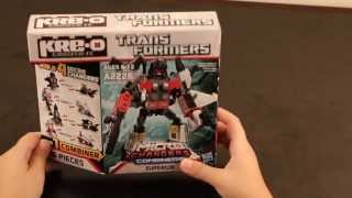 KRE-O Transformers Kids Review Micro-Changers Combiners Superion