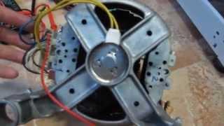 Стиральная машина ARDO S1000X - барабан не вращается, замена щёток