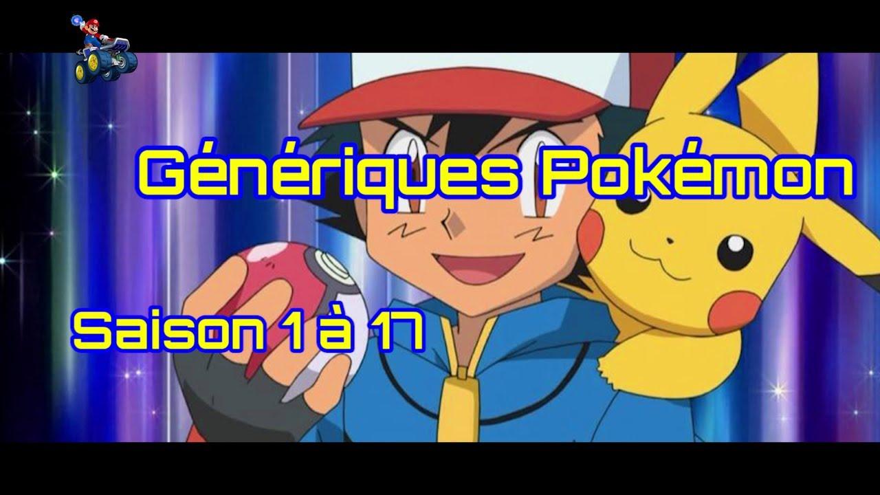 G n riques pok mon saison 1 17 vid o hd paroles - Youtube pokemon saison 17 ...
