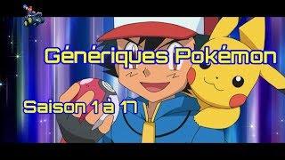 Génériques Pokémon - Saison 1 à 17 [Vidéo HD + Paroles]